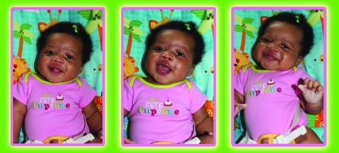 Baby Quinn Smiling