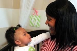 Tanya Franklin & Baby Quinn